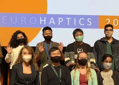 Haptic Intelligence Department rocks EuroHaptics 2020!