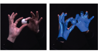 Motion Capture of Hands in Action using Discriminative Salient Points