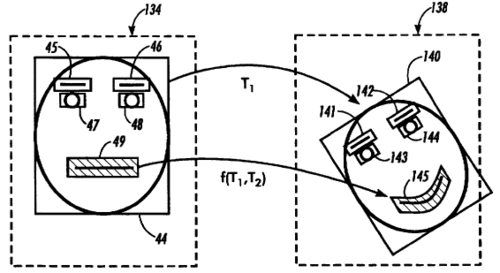 Apparatus and method for tracking facial motion through a sequence of images