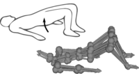 Predicting Articulated Human Motion from Spatial Processes