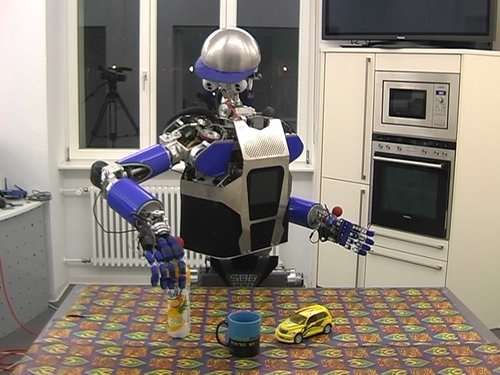 Task-Based Grasp Adaptation on a Humanoid Robot