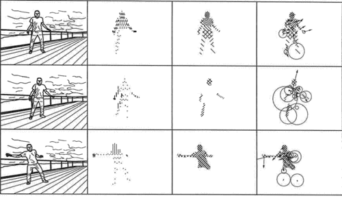 Human Pose Calculation from Optical Flow Data