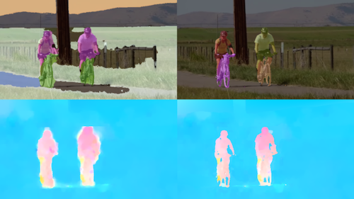 Optical Flow with Semantic Segmentation and Localized Layers