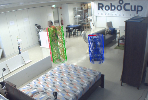 Onboard robust person detection and tracking for domestic service robots