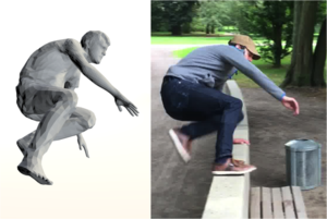 Sparse Inertial Poser: Automatic 3D Human Pose Estimation from Sparse IMUs