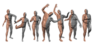 Human Shape Estimation using Statistical Body Models