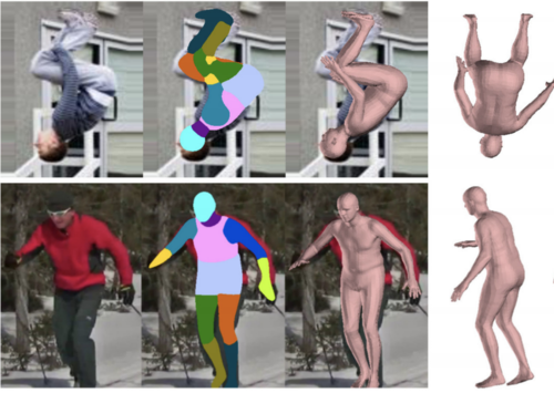 Neural Body Fitting: Unifying Deep Learning and Model-Based Human Pose and Shape Estimation