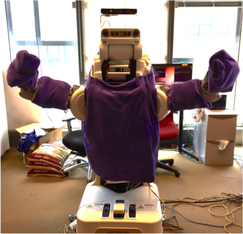 Physical and Behavioral Factors Improve Robot Hug Quality