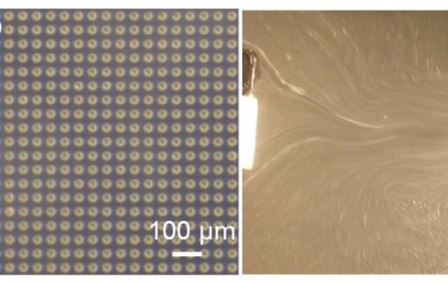 Wireless actuator based on ultrasonic bubble streaming