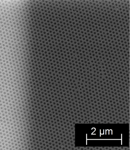 {Magnetic switching of nanoscale antidot lattices}