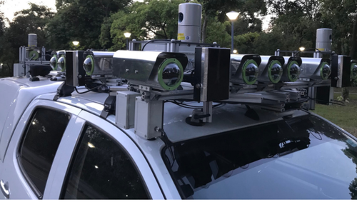 Project AutoVision: Localization and 3D Scene Perception for an Autonomous Vehicle with a Multi-Camera System