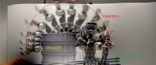 Safe and Fast Tracking Control on a Robot Manipulator: Robust MPC and Neural Network Control