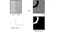 Robust estimation of multiple surface shapes from occluded textures