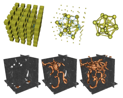 Geometrically Induced Force Interaction for Three-Dimensional Deformable Models
