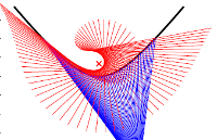 Calibrating and Centering Quasi-Central Catadioptric Cameras