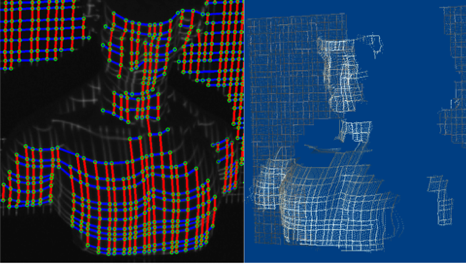 {Robust one-shot 3D scanning using loopy belief propagation}