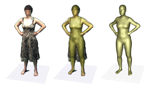 The naked truth: Estimating body shape under clothing,