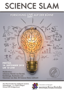 Science Slam on the Max Planck Day in Stuttgart