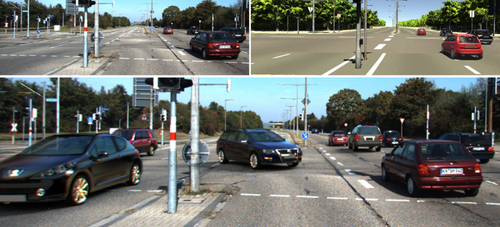 Augmented Reality Meets Deep Learning for Car Instance Segmentation in Urban Scenes