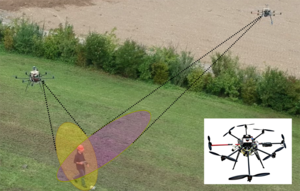 Deep Neural Network-based Cooperative Visual Tracking through Multiple Micro Aerial Vehicles